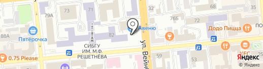 OKSMODA на карте Красноярска