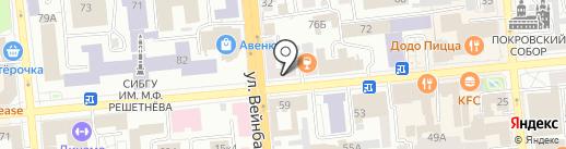 Avelon на карте Красноярска