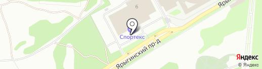 Сиб-Данс на карте Красноярска