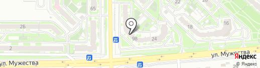 Роботрек на карте Красноярска