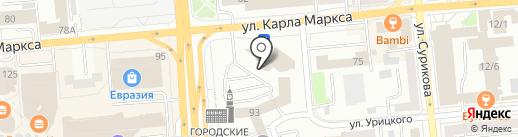 ДОДОР на карте Красноярска