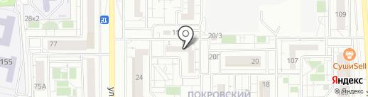 Myballoons на карте Красноярска