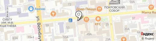 LOST на карте Красноярска