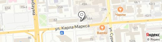 Экспресс кредит на карте Красноярска
