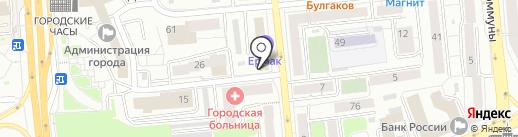КАПИТАЛ на карте Красноярска