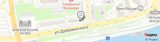 Диалог Права на карте Красноярска