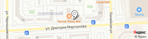 Chance на карте Красноярска