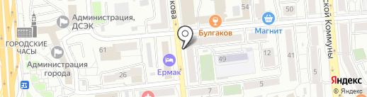 АКБ Абсолют банк, ПАО на карте Красноярска