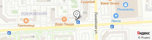 Relaks.me на карте Красноярска