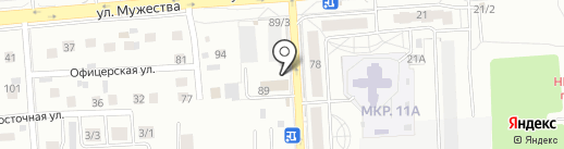 ЕнисейТрансЛогистика на карте Красноярска