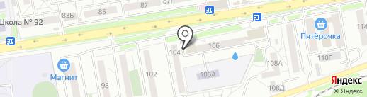 Ломбард СОВА на карте Красноярска