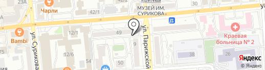 myappleskins.ru на карте Красноярска