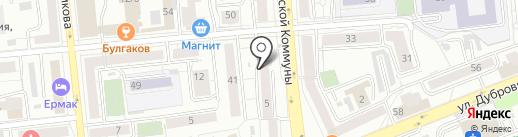Nolte на карте Красноярска