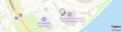 СДЮСШОР им. Н.Д. Валова по боксу на карте Красноярска