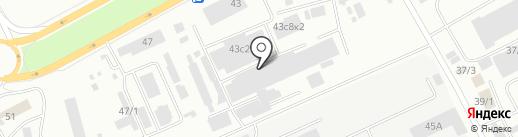ВЕГАС на карте Красноярска