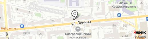 Магазин европейских тканей на карте Красноярска