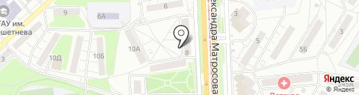 ЛОМБАРД КРАСНОЯРСКИЙ КАПИТАЛ на карте Красноярска