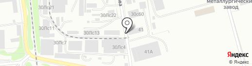 МеталлоПолимер на карте Красноярска