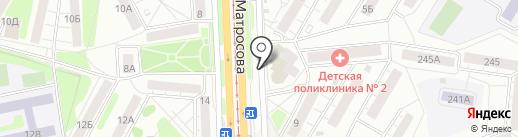 Промышленная группа ПЕТАЛ на карте Красноярска