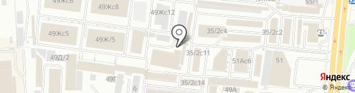 КЭС на карте Красноярска