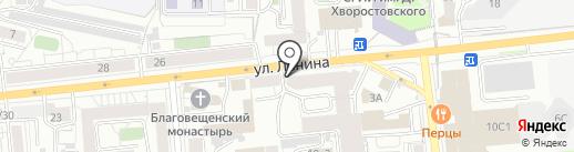 Щербинская баня на карте Красноярска