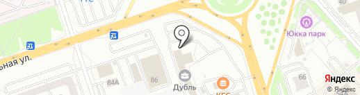 Metall-124.ru на карте Красноярска