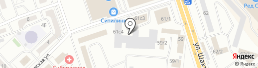 VAG Доктор на карте Красноярска