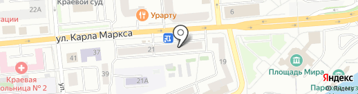 Фруктовая лавка на карте Красноярска