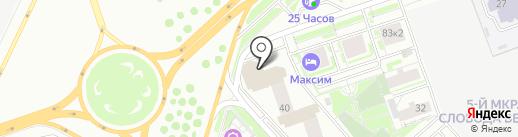 ESTIMA Ceramica на карте Красноярска