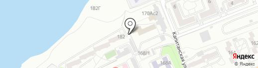 Rusima на карте Красноярска