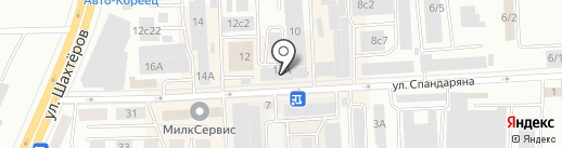 Якутекс на карте Красноярска