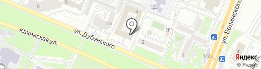 Илим Инвест на карте Красноярска