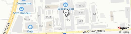 ManKit Service на карте Красноярска