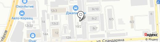 Крайпотребсоюз на карте Красноярска