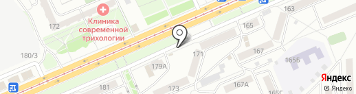 Барская трапеза на карте Красноярска