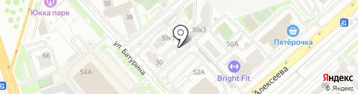 ПЕННЫЙ ЗАЛИВ на карте Красноярска