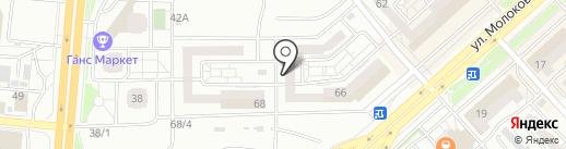 Permanent на карте Красноярска
