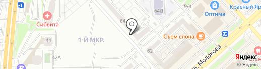 С.В.Т.С.-Альянс на карте Красноярска