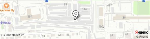 ВЗЛЕТКА СЕРВИС на карте Красноярска