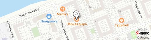 Чёрная Дыра на карте Красноярска
