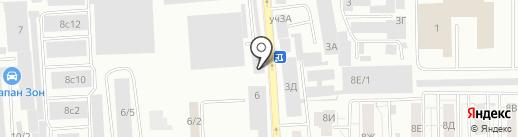 Сфера СВ на карте Красноярска