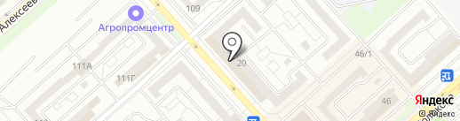 Chiritta на карте Красноярска