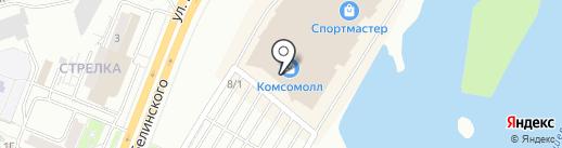 Новатек на карте Красноярска