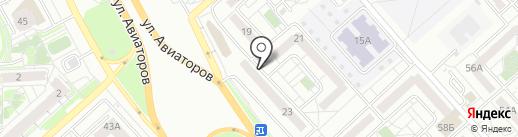 ЭЛЛКО на карте Красноярска