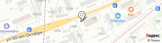 Стальмет на карте Красноярска