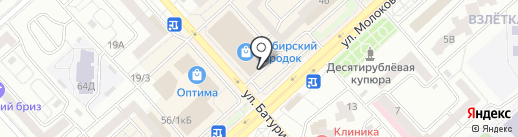 Биолит на карте Красноярска