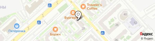Альфа Баланс на карте Красноярска