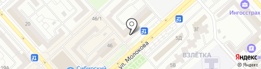 АТЛАС на карте Красноярска