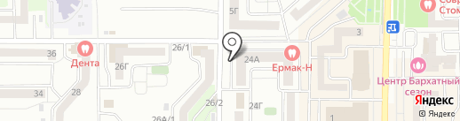 В поисках клада на карте Красноярска