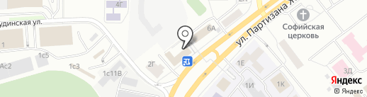 Студенческое бюро на карте Красноярска